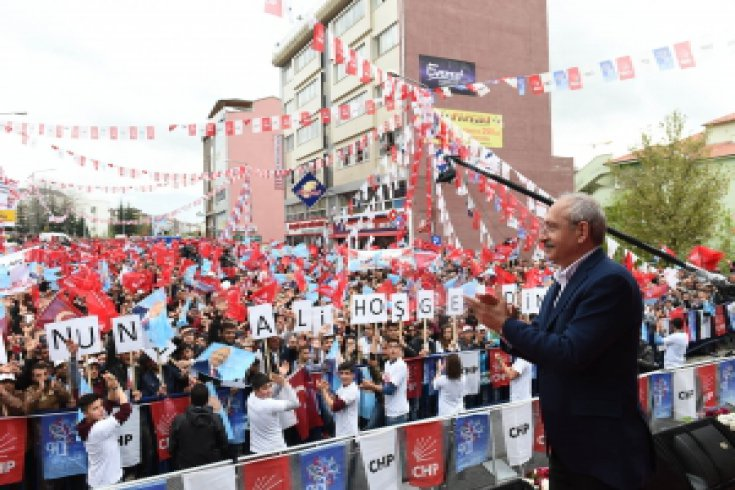 Kemal Kılıçdaroğlu, Nevşehir'de miting'de konuştu