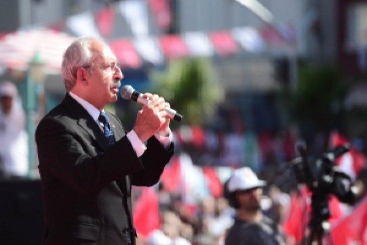Kemal Kılıçdaroğlu, Tarsus Mitinginde konuştu