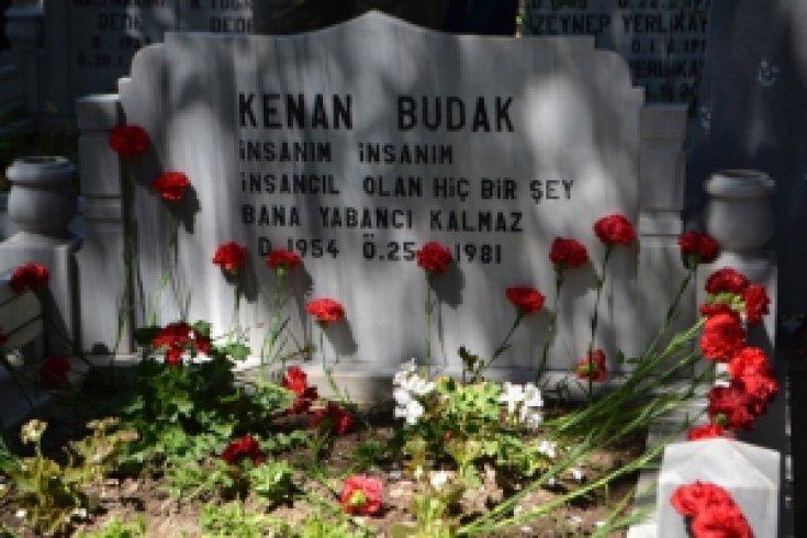 Kenan Budak ölümünün 32. yılında anıldı.