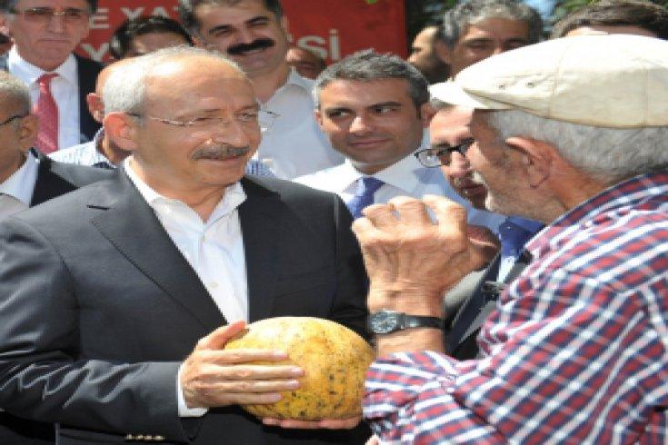 Kılıçdaroğlu bayram için Tunceli'deydi