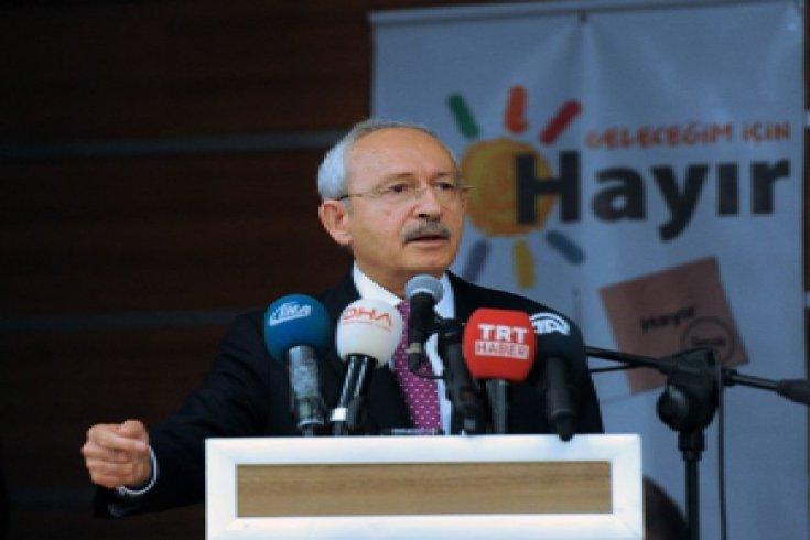 Kılıçdaroğlu, Burdur'da STK ve muhtarlarla bir araya geldi