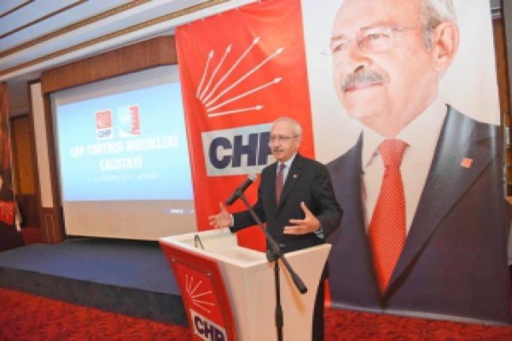 Kılıçdaroğlu, CHP Yurtdışı Birlikleri Çalıştayına katıldı