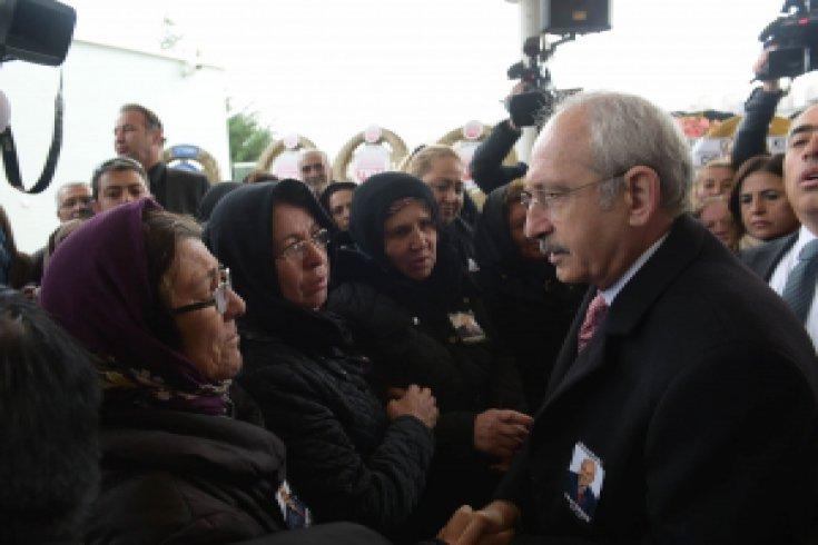 Kılıçdaroğlu, CHP'li Mehmet Yurtsever'in cenazesine katıldı