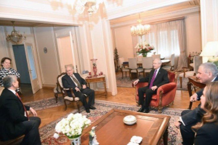 Kılıçdaroğlu, Cindoruk'u ziyaret etti