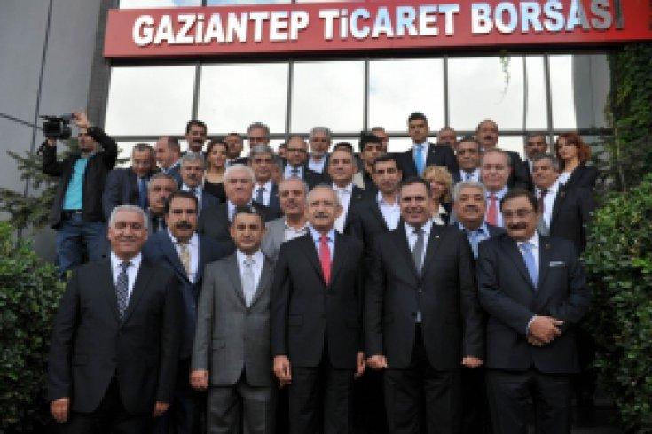 Kılıçdaroğlu Gaziantep'e geldi.