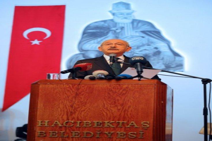 Kılıçdaroğlu, Hacı Bektaş Veli Anma ve Kültür Sanat Etkinlikleri'ne katıldı