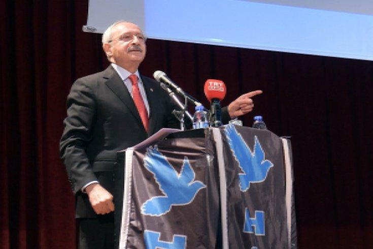Kılıçdaroğlu, Kayseri'de Gençlerle buluştu