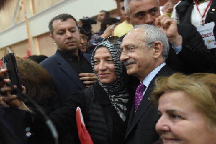 Kılıçdaroğlu, Kocaeli'de kadınlar toplantısına katıldı