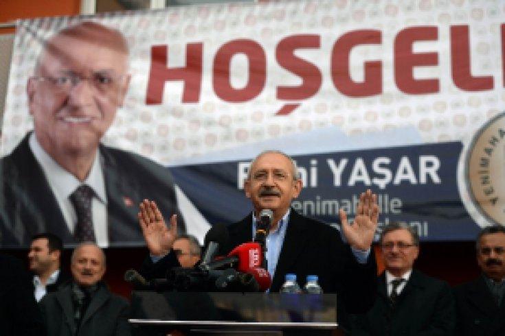 Kılıçdaroğlu, Macunköy'de öğrenci evi ile sosyal tesisin açılış törenine katıldı.