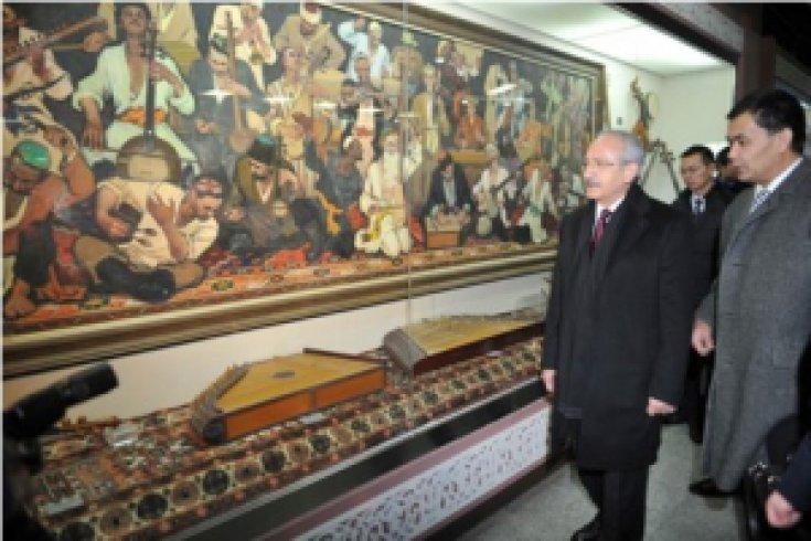 Kılıçdaroğlu müze ziyareti