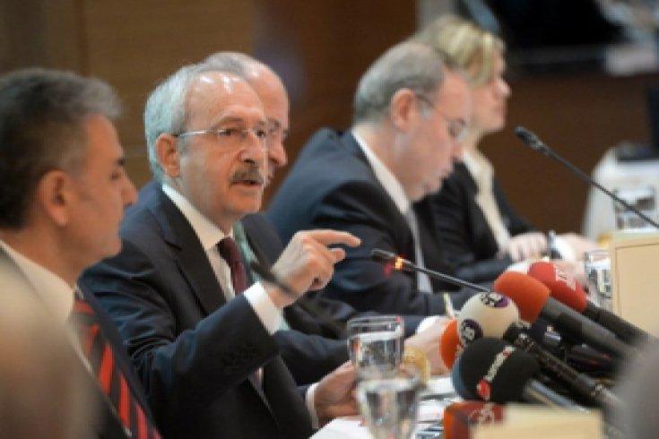 Kılıçdaroğlu, OSB Başkan ve Temsilcileriyle buluştu