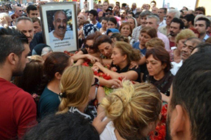 Kılıçdaroğlu, Özkahraman'ın cenazesine katıldı