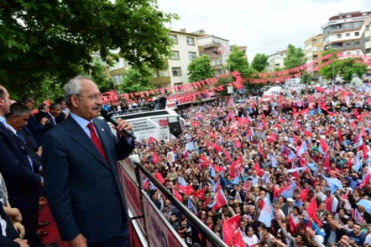 Kılıçdaroğlu, Pendik'te