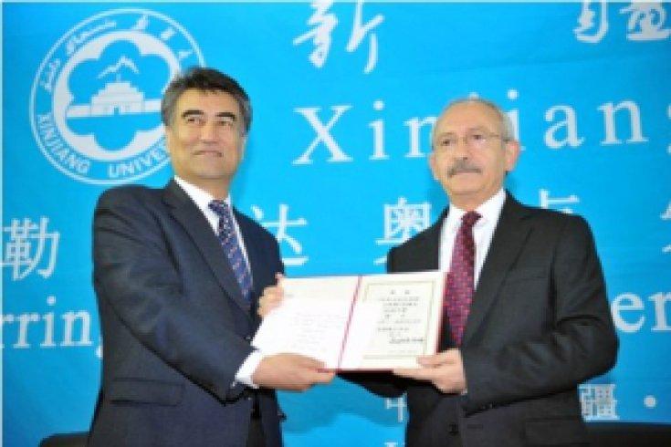 Kılıçdaroğlu, Sincan Üniversitesi'ni gezdi