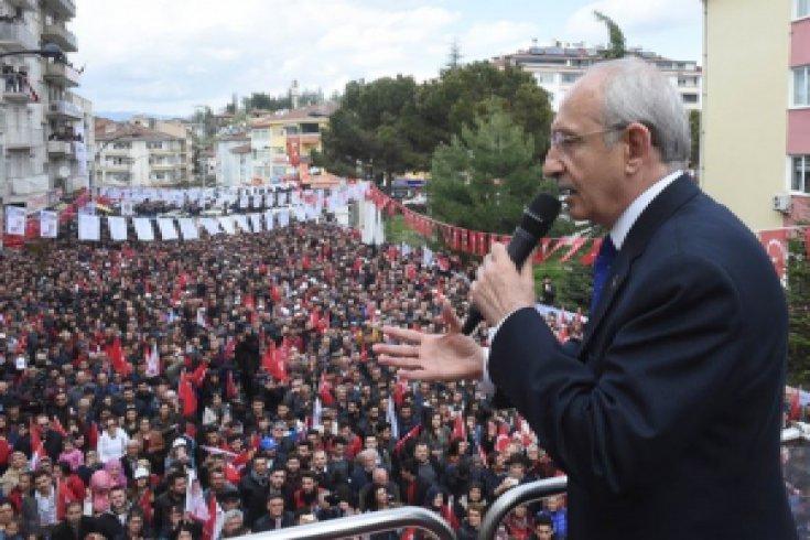 Kılıçdaroğlu, Sinop'un Boyabat ilçesini ziyaret etti
