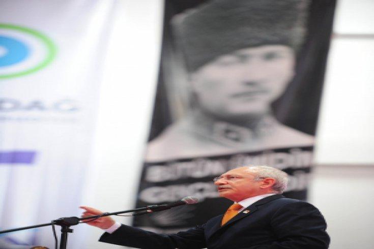 Kılıçdaroğlu, Tekirdağ Büyükşehir Belediyesi'nin toplu temel atma törenine katıldı