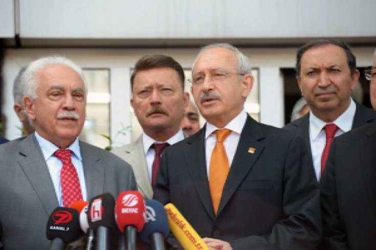 Kılıçdaroğlu, Vatan Partisi Genel Merkezini ziyaret etti