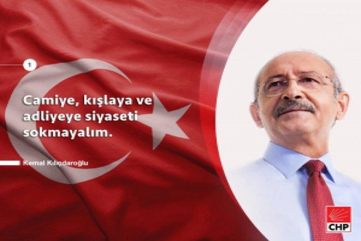 Kılıçdaroğlu, Yenikapı Manifestosu