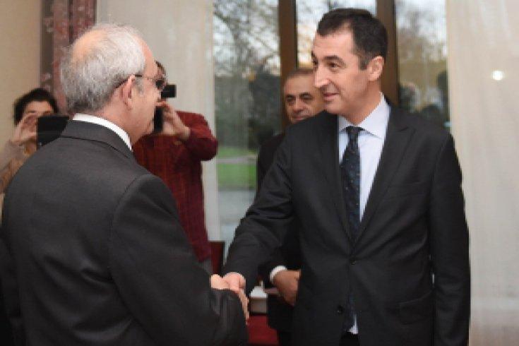 Kılıçdaroğlu, Yeşiller Partisi Eşbaşkanı Cem Özdemir ile bir araya geldi