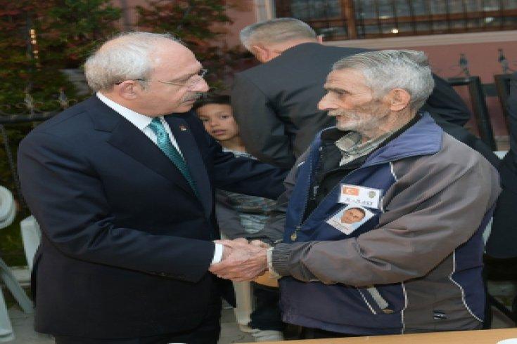 Kılıçdaroğlu'dan şehit polis Yaşar Yavaş'ın ailesine taziye ziyareti
