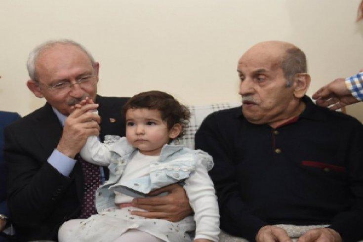 Kılıçdaroğlu'ndan hasta ziyareti