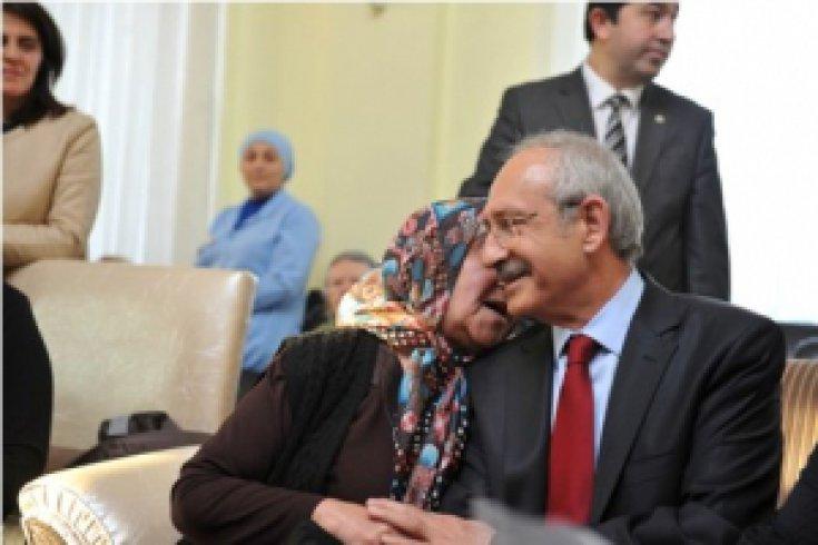 KIlıçdaroğlu'ndan huzurevi ziyareti