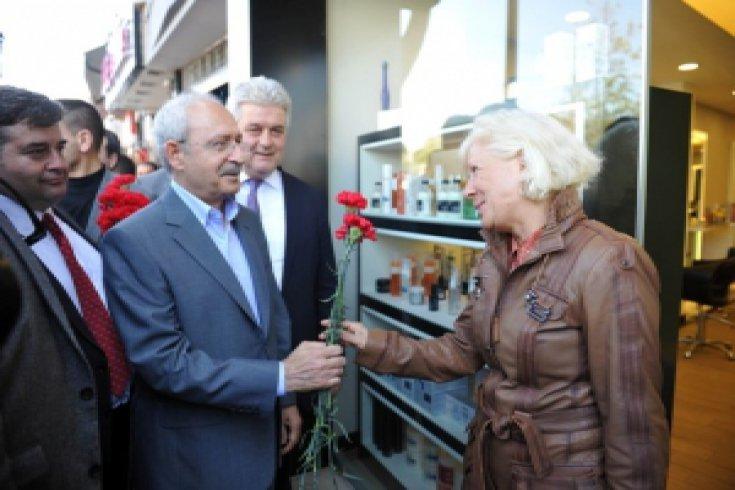 Kılıçdaroğlu'nun İzmir ziyareti