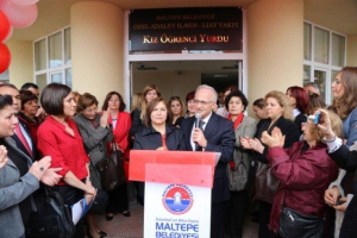 Maltepe'de görkemli açılış