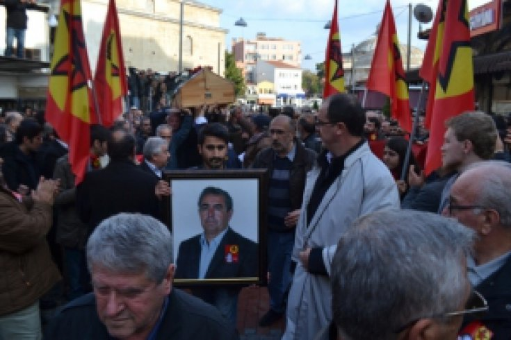 Nasuh Mitap Kırklareli'ndeToprağa Verildi