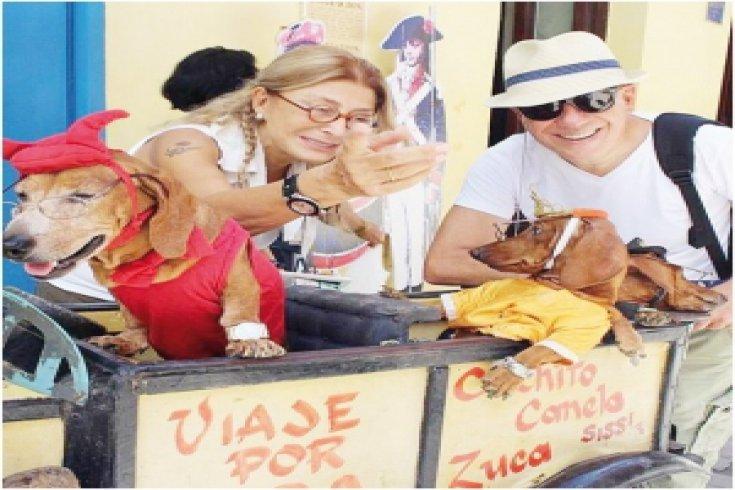 Solcu bir kadınla 10 gün Küba