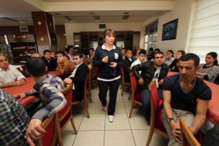 Sosyal Tesis çalışanlarına hijyen eğitimi