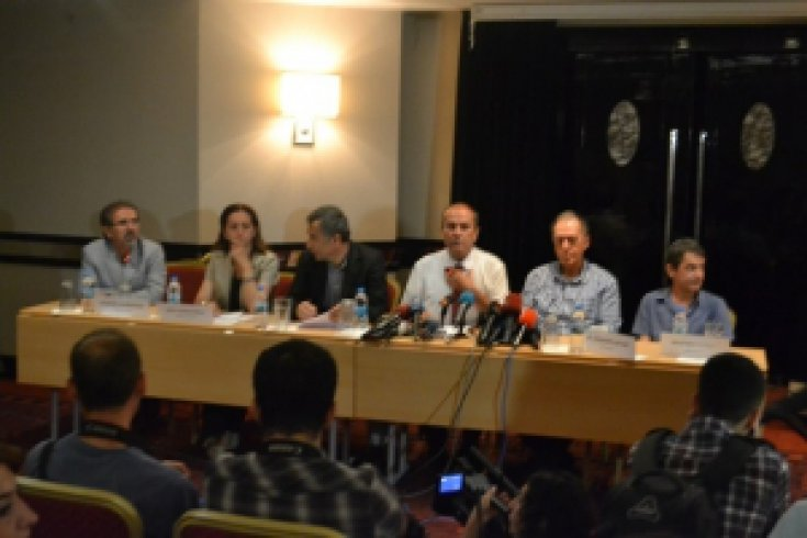 Taksim Dayanışması Basın Açıklaması, Taksim Hill Otel