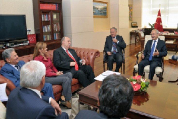 Temiz Seçim Platformu Kılıçdaroğlunu ziyaret etti