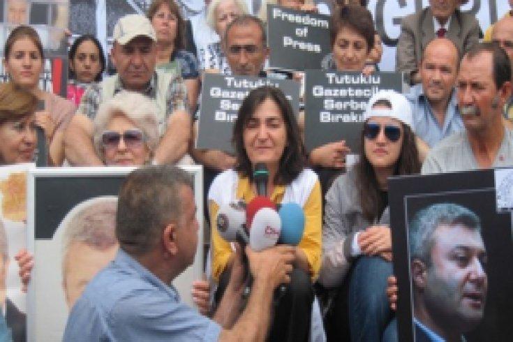Tutuklu Gazeteciler için 17. gün