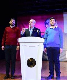 Kılıçdaroğlu, 15. Olağan Gençlik kongresine katıldı