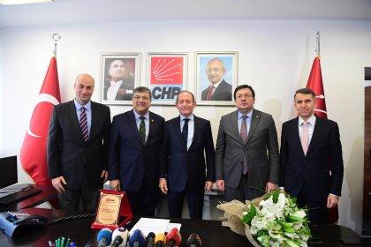 CHP Genel Sekreterliğinde devir teslim töreni