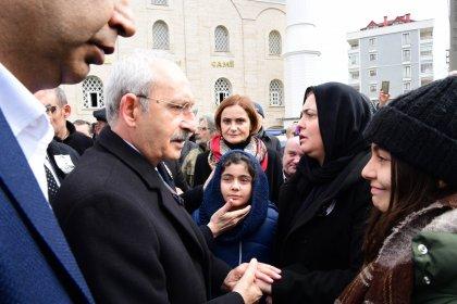 Kılıçdaroğlu, PM üyesi Yavuz Karan'ın cenazesine katıldı