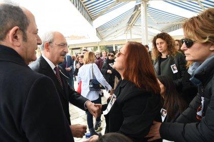 Kılıçdaroğlu, Deniz Bölükbaşı'nın cenaze törenine katıldı