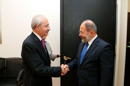 CHP lideri Kılıçdaroğlu Başbakan Yardımcısı Recep Akdağ ile görüştü