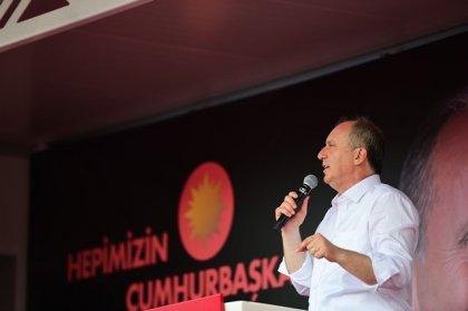 Muharrem İnce Erzincan mitinginde halka seslendi