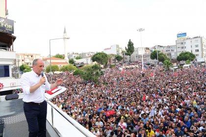 Muharrem İnce İzmir Aliağa'da halka seslendi