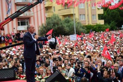 Muharrem İnce, Balıkesir'de halka seslendi
