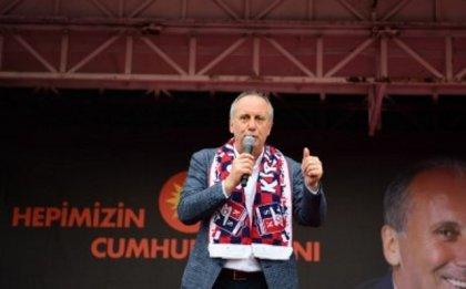 Muharrem İnce Kırıkkale mitinginde konuştu