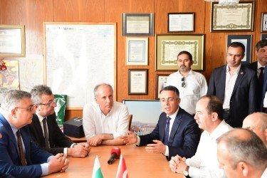 Muharrem İnce Bulgaristan'da Kırcaali Belediyesi'ni ziyaret etti
