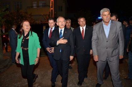 Kılıçdaroğlu'ndan şehit Sercan Koç'un ailesine taziye ziyareti