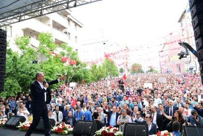 Muharrem İnce Nevşehir mitinginde konuştu