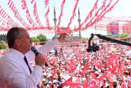 Muharrem İnce Kayseri'de halka seslendi