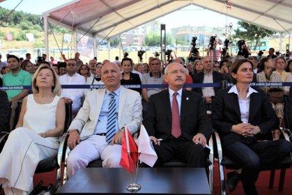 Kılıçdaroğlu, Kartal Belediyesi'nin 'Yaşlı Bakım ve Huzurevi Binası'nın açılışına katıldı