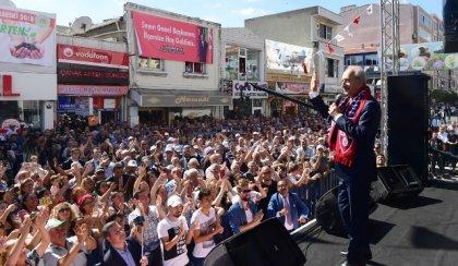 Kılıçdaroğlu, Kırklareli'de halka seslendi