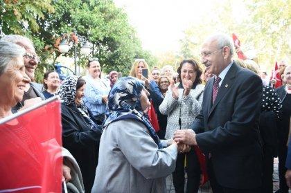 Kılıçdaroğlu Çanakkale Karabiga'da yurttaşlarla bir araya geldi